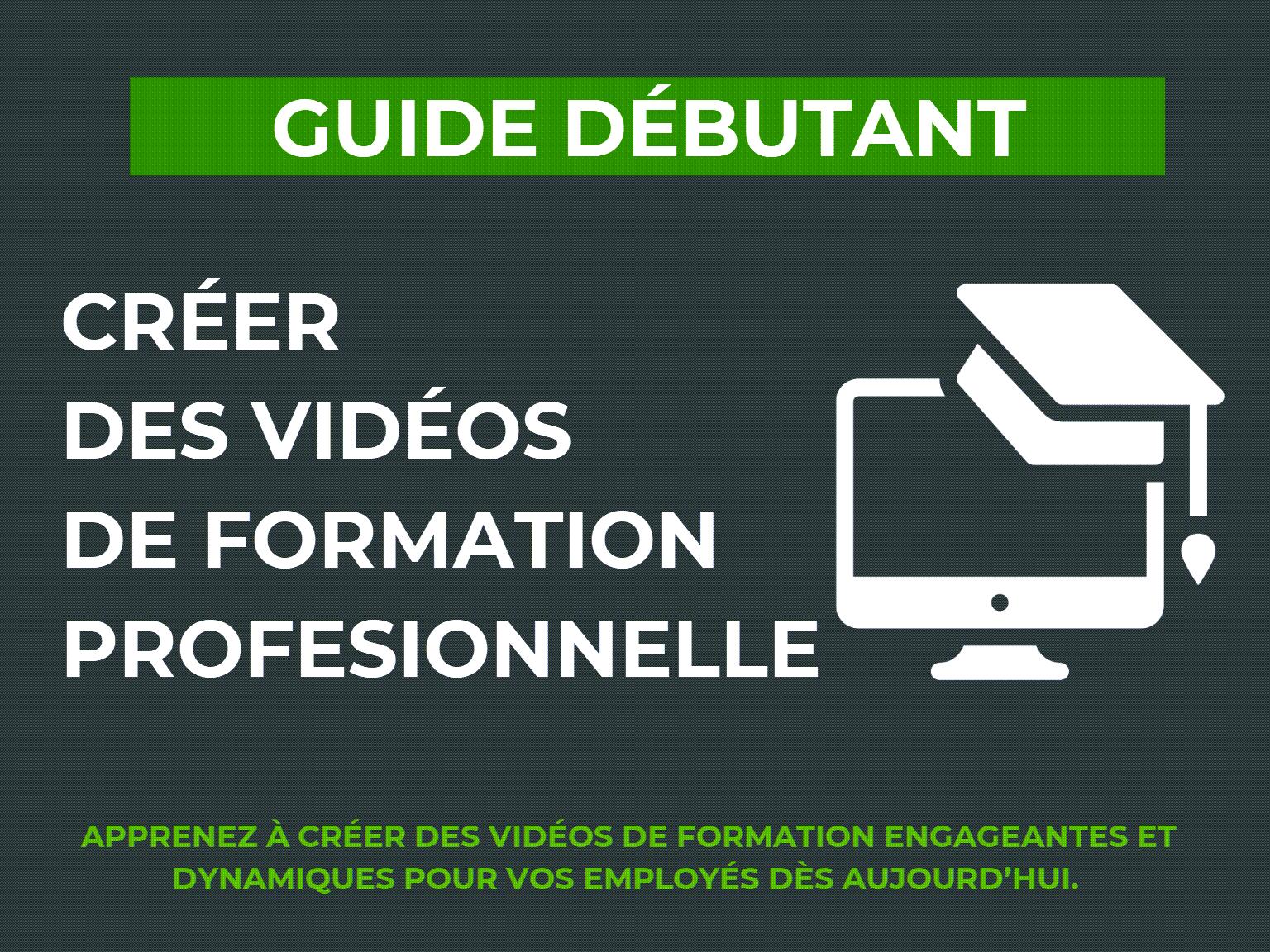 TechSmith – Comment créer une bonne vidéo de formation professionnelle ?