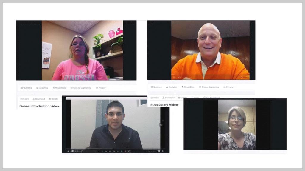 Capture d'écran de vidéos de présentations